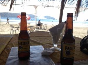 cervezas in Zihautanejo