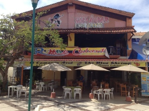 Blue Shrimp, a decent place to eat in Ixtapa